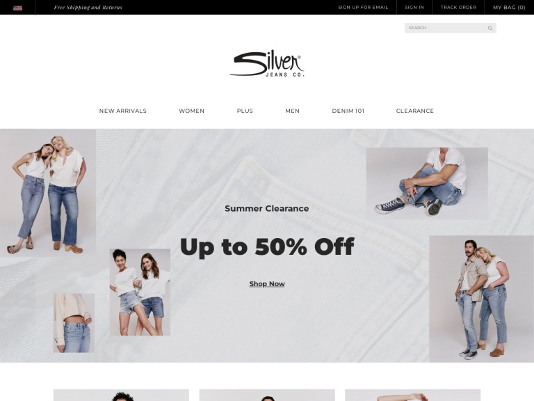 Silver Jeans screenshot