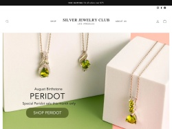 SilverJewelryClub coupon codes August 2018