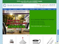 Silversuperstore coupon codes September 2018