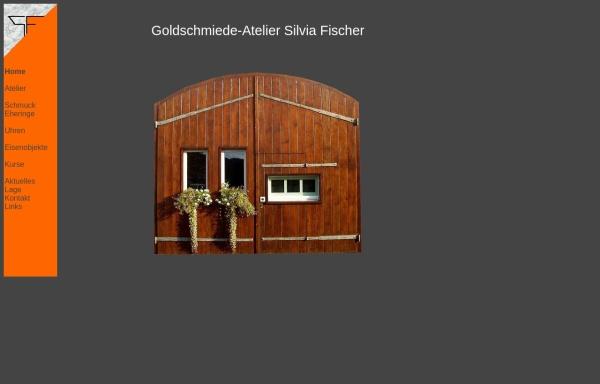 Vorschau von www.silvia-fischer.ch, Goldschmiede-Atelier Silvia Fischer