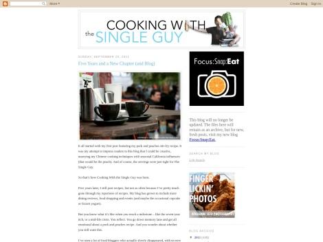 http://www.singleguychef.blogspot.com