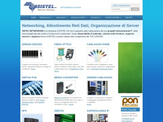screenshot sistel-networking.it