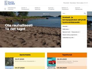 Screenshot for siuntio.fi