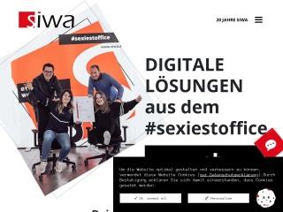 Screenshot der Website siwa.at