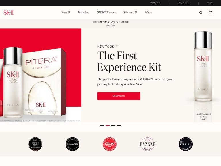 Sk-ii screenshot