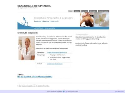 www.skanstullskiropraktik.n.nu