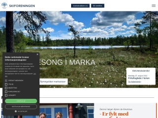 Screenshot for skiforeningen.no