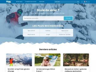 Capture d'écran pour skiinfo.fr