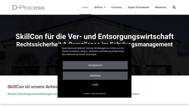 www.skillcon.de Vorschau, D-Process, Inh. Martin Ehlers