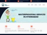 waterproofing services in Hyderabad