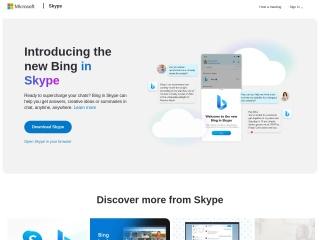 Screenshot for skype.com