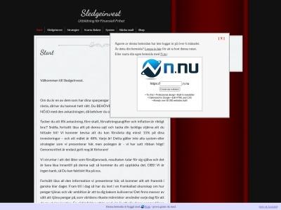 www.sledgeinvest.n.nu