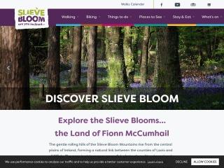 Screenshot for slievebloom.ie