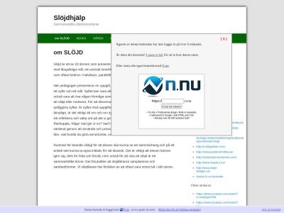 www.slojdhjalp.n.nu
