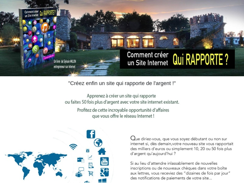 comment creer un site qui rapporte ?