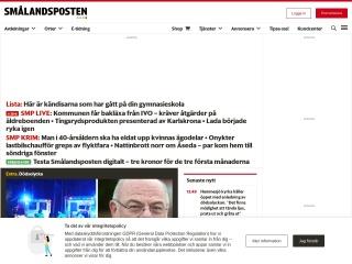 Skärmdump för smp.se