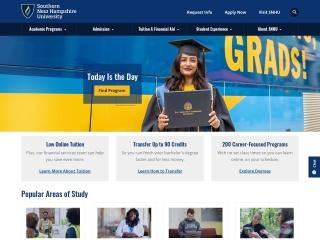 Screenshot for snhu.edu
