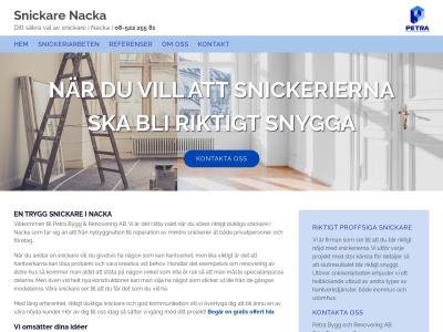 snickarenacka.com