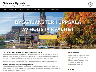www.snickareuppsala.nu