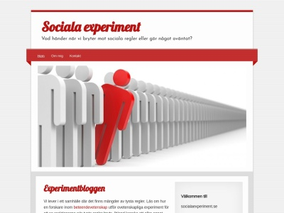 www.socialaexperiment.se