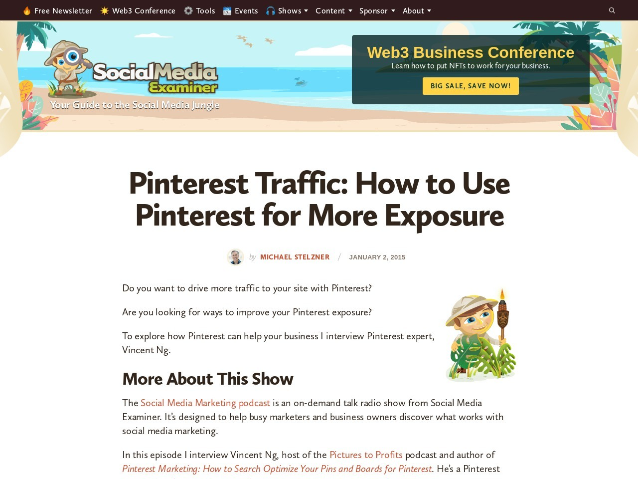 Pinterest Traffic: How to Use Pinterest for More Exposure