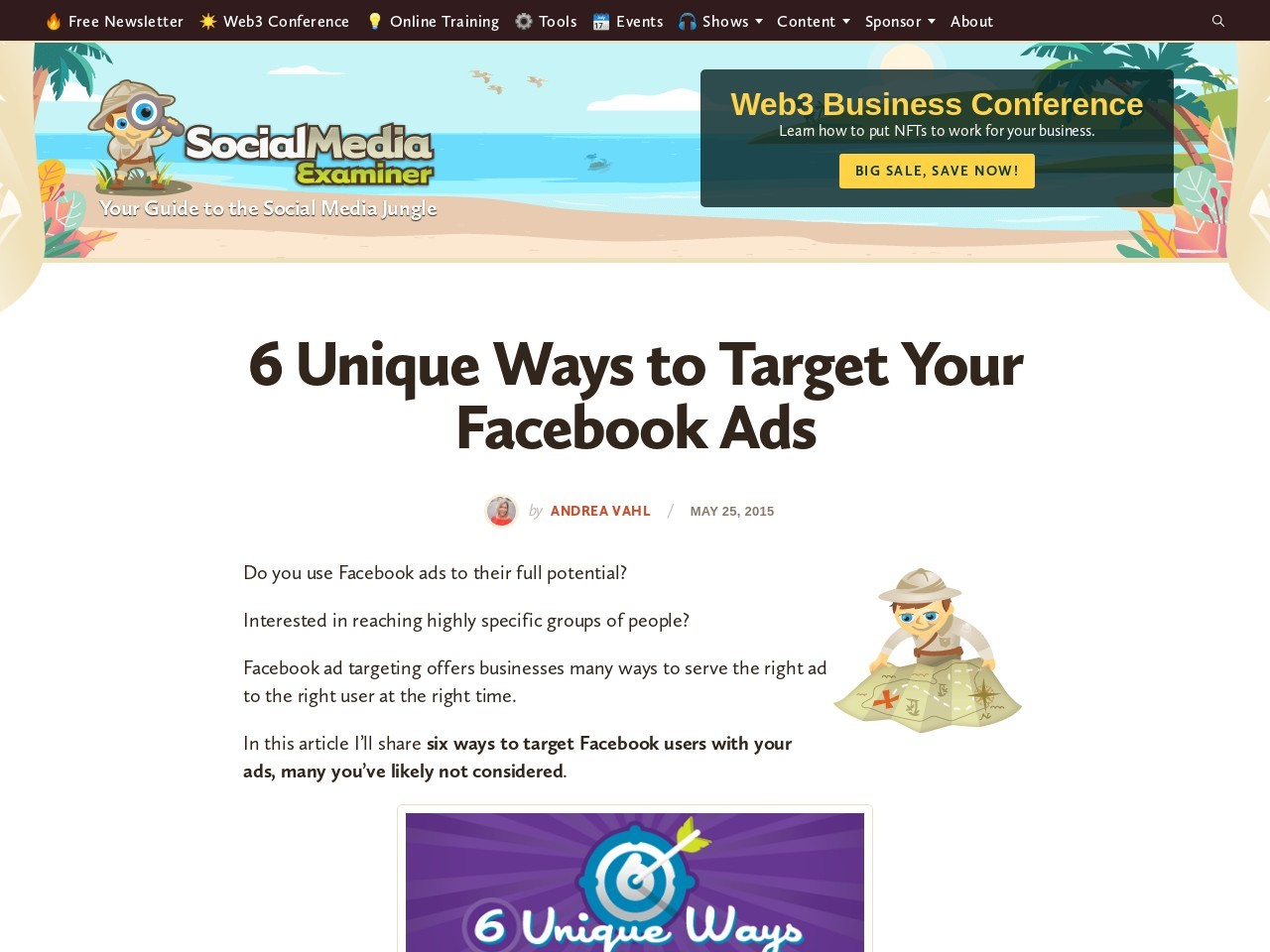 6 Unique Ways to Target Your Facebook Ads