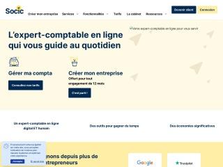 Capture d'écran pour socic.fr