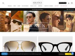 SOLSTICEsunglasses.com screenshot
