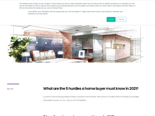 What are the 5 hurdles a home buyer must know in 2021?