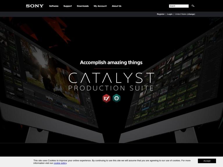 Sony Creative Software screenshot
