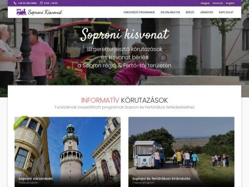 http://www.sopronikisvonat.hu/