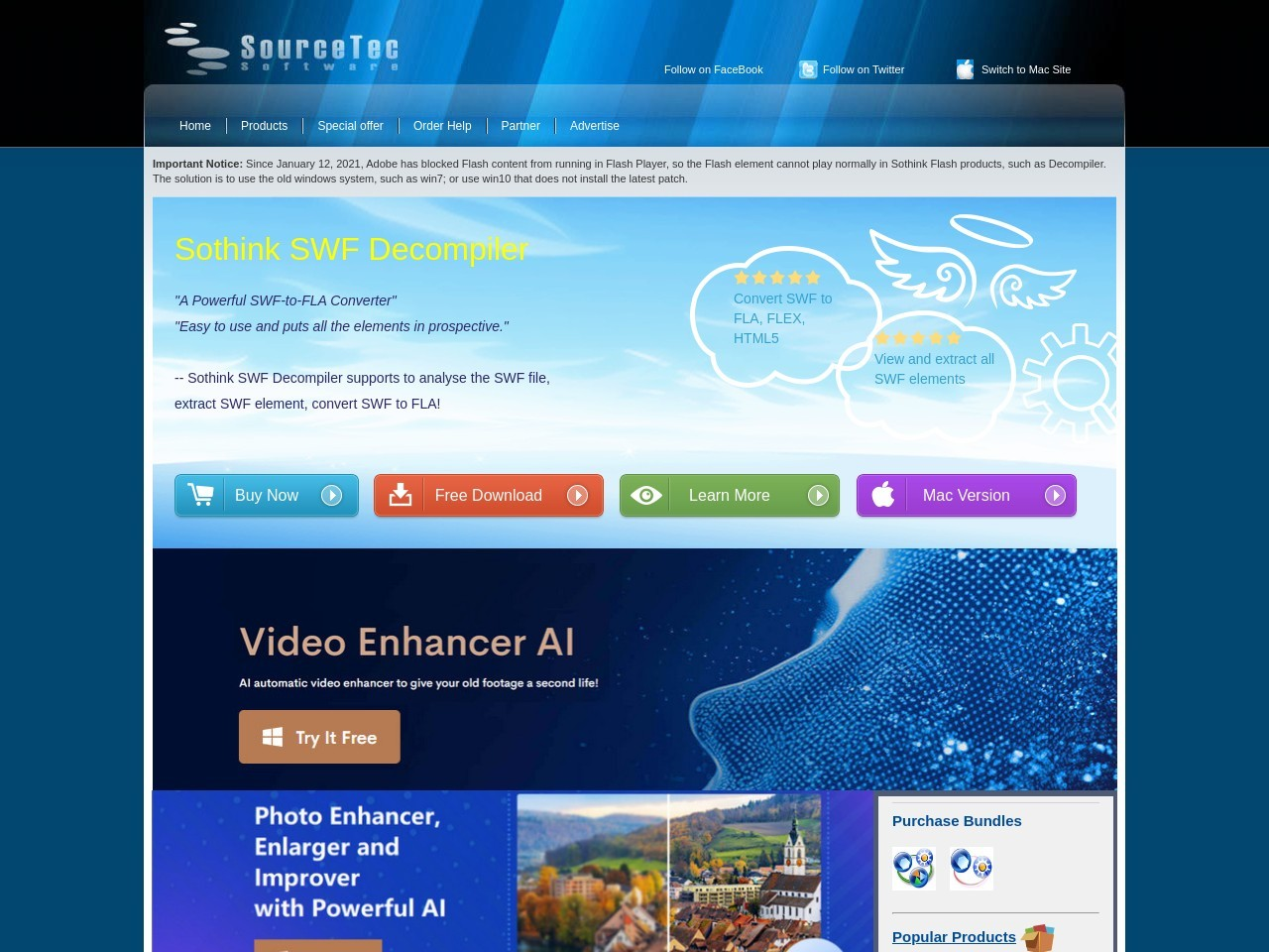 Sothink SWF to Video Converter + Video Encoder for Adobe Flash