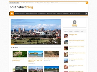 Screenshot for southafricablog.co.za