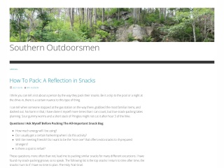 Screenshot for southernoutdoorsmen.com