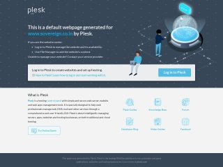 Screenshot for sovereign.co.in