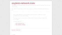 www.soylent-network.com Vorschau, soylent network