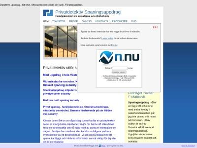 www.spaningsuppdrag.n.nu
