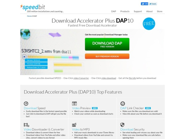 Download Accelerator Plus - Top 10 Best Download Manager For Windows (2020)