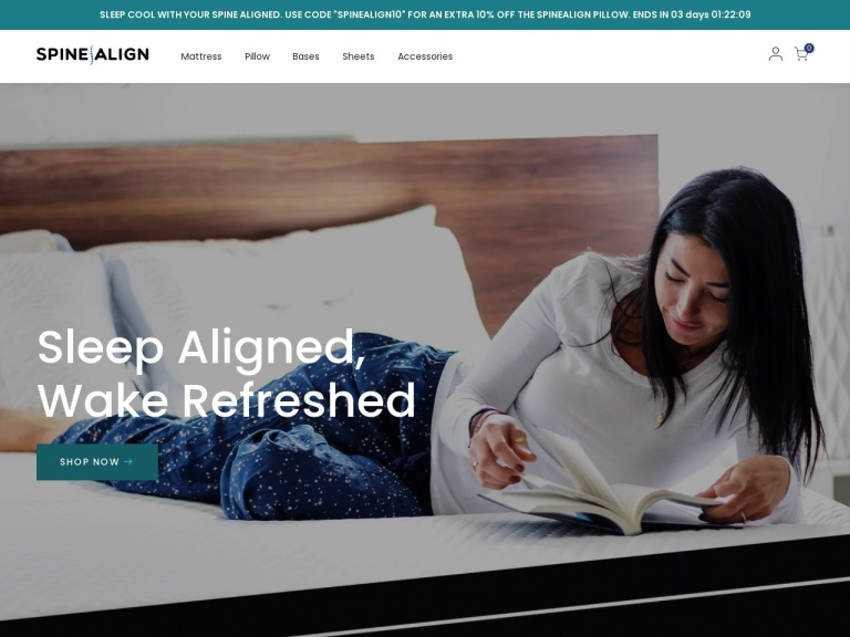 SpineAlign Coupon Codes & Promo codes