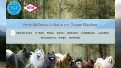www.spitze-muenchen.de Vorschau, Gruppe München im Verein für Deutsche Spitze e.V.