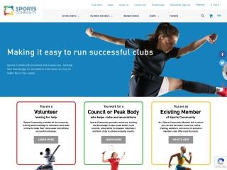 Screenshot for sportscommunity.com.au