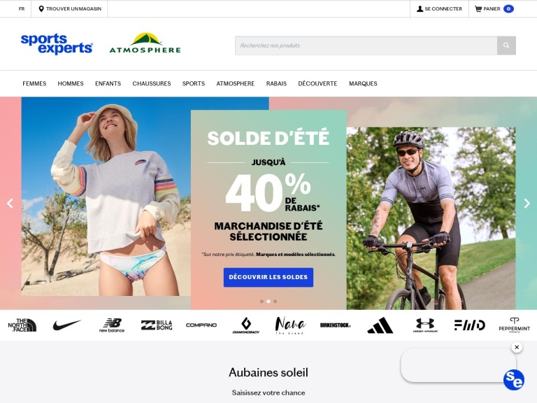 SportsExperts.ca Coupon Codes