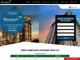 Sports Homes Noida Extension Price List