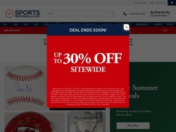 SportsMemorabilia.com screenshot