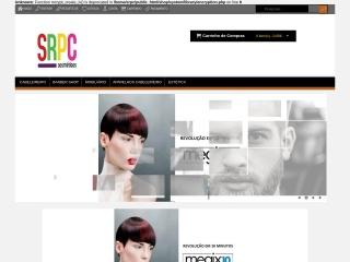 Screenshot do site srpc.pt