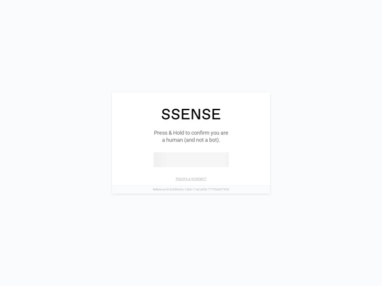 Ssense screenshot