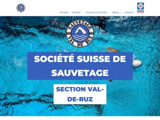 Screenshot der Website sss-vdr.ch
