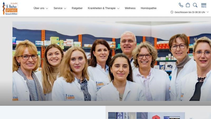 www.st-rochus-apotheke.de Vorschau, St. Rochus-Apotheke