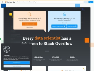 Screenshot for stackoverflow.com