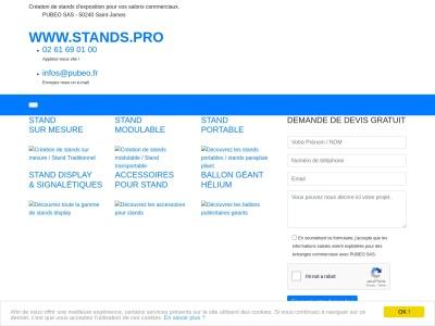 Stands.pro : aménagement professionnel de stands
